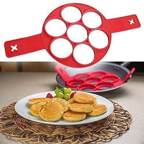 MOULE  XY Moule Silicone Pancake Omelettes Crêpe Poêle No