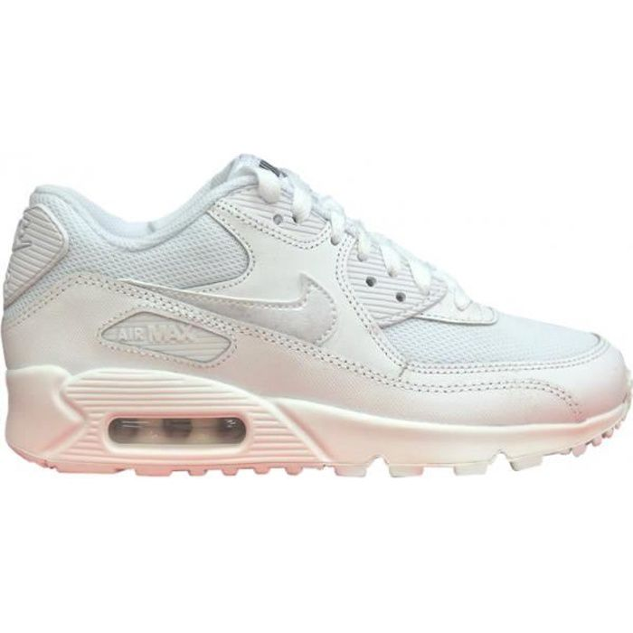 on sale 773aa 86798 ... nike air max 90 mesh junior blanc