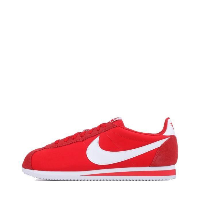 nike cortez nylon rouge online