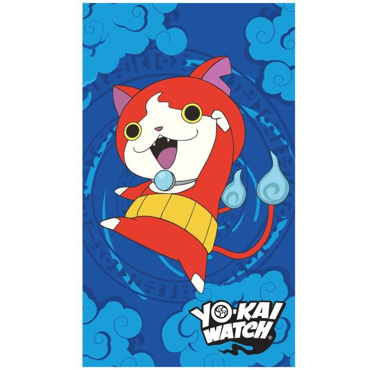 Drap de plage yo kai watch gang 100 coton 320 g m for Salle de bain yo kai watch 2