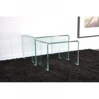 petite console transparente. Black Bedroom Furniture Sets. Home Design Ideas
