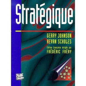 LIVRE GESTION Stratégique