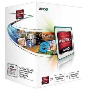 PROCESSEUR AMD AMD A4-4000, AMD A4, 3 GHz, Socket FM2, PC, 32
