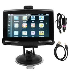 GPS AUTO 5 Inch Navigateur GPS, Navigation portative 256M 8