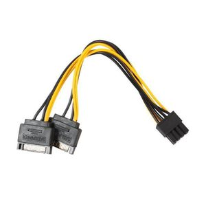 CARTE GRAPHIQUE INTERNE Câble d'adaptateur d'alimentation de carte vidéo P
