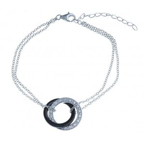 bracelet argent ceramique