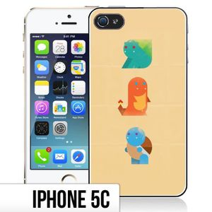 coque iphone 5c pokemon abstrait