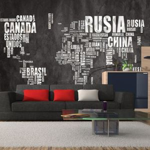 poster mural geant carte du monde achat vente poster mural geant carte du monde pas cher. Black Bedroom Furniture Sets. Home Design Ideas