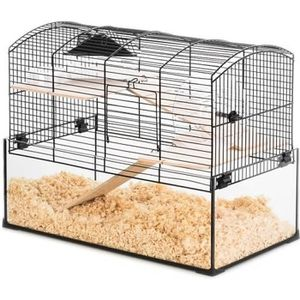 CAGE Cage Neo Panas Gerbille Noir