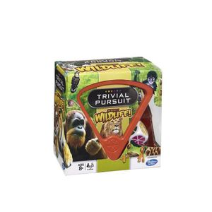 JEU SOCIÉTÉ - PLATEAU Trivial Pursuit The World Of Wildlife