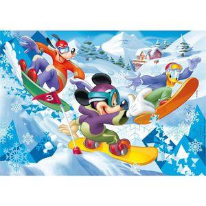PUZZLE Puzzle 60 pièces : Mickey Sport