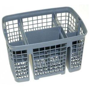 Panier à couverts pour Indesit Lave-vaisselle Cage en Plastique Couvercle du Coffret