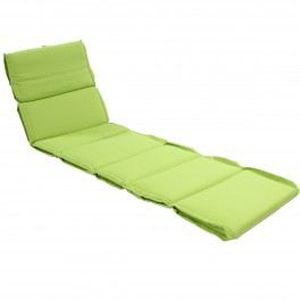coussin pour bain de soleil 190 x 55 cm vert achat. Black Bedroom Furniture Sets. Home Design Ideas