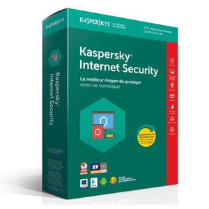ANTIVIRUS KASPERSKY Internet Security 2018 - 5 Postes / 1 An