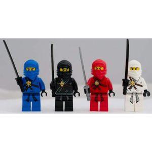 ASSEMBLAGE CONSTRUCTION Jeu D'Assemblage LEGO C4KJU Ninjago Ensemble de 4