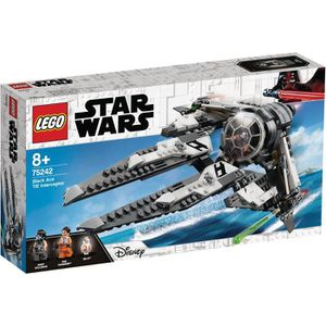 ASSEMBLAGE CONSTRUCTION LEGO Star Wars™ 75242 Black Ace TIE Interceptor
