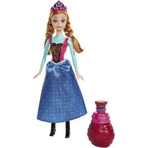 POUPÉE MATTEL Disney Frozen Royale changement de couleur