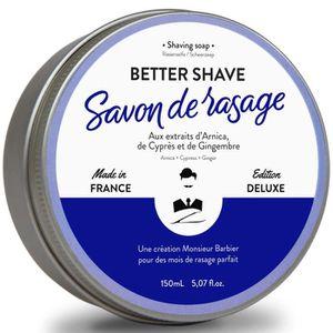 MOUSSE À RASER - GEL MONSIEUR BARBIER Savon de rasage Better Shave - 15
