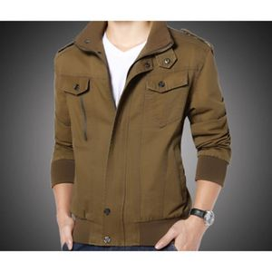 veste d contract blouson pour homme col haut kaki achat vente blouson cdiscount. Black Bedroom Furniture Sets. Home Design Ideas