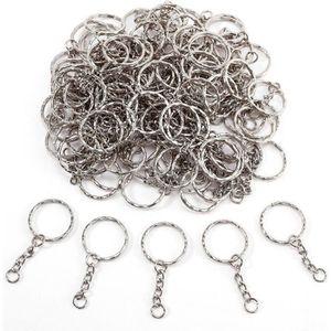 diam/ètre int/érieur de 20 mm 60 pi/èces Crochets porte-cl/és pivotants avec anneaux en D et porte-cl/és en vrac pour fournitures de lani/ère