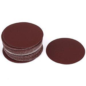 disques de pon/çage ponceuse diam/ètre 50 mm grain 120 feuilles de pon/çage disques /à polir /écrous de roue 50x Cale /à poncer