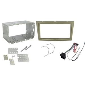 Façade Radio bac convient pour OPEL ASTRA H Astra Twintop Voiture Installation Cadre DIN