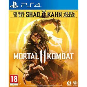JEU PS4 Mortal Kombat 11 PS4