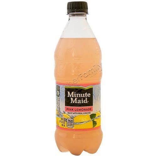 Minute Maid Limonade Rose