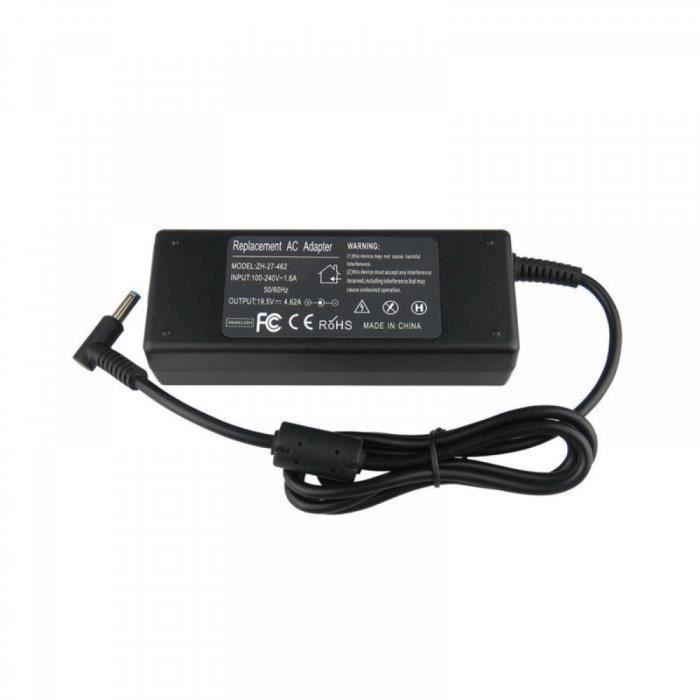 19.5V 4.62A alimentation AC chargeur adaptateur pour HP Envy 17-j030us