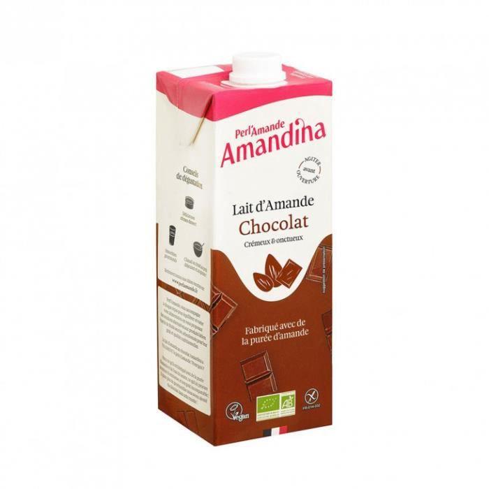 Perl'Amande - Amandina boisson chocolat-amande 1l