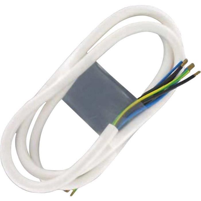Câble de raccordement 100324 blanc 1.50 m