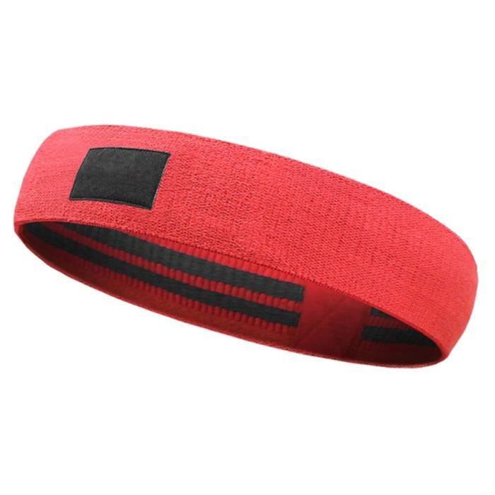 Musculation Pilates Yoga résistance bandes élastique hanche cercle Fitness Squat résistance band - Modèle: 64cm Red - HSJSTLDB05950