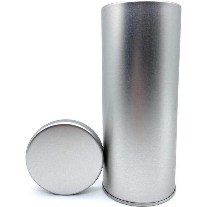 Boîte de rangement en métal pour dosettes Senseo - Boîte de rangement élégante pour dosettes - Argent[506]
