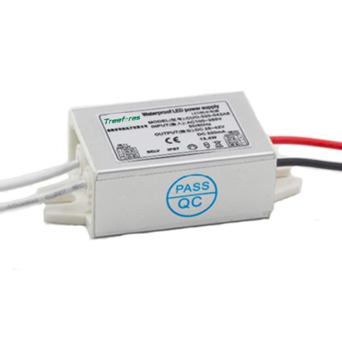 IP67 10W 24V mince LED Transformateur