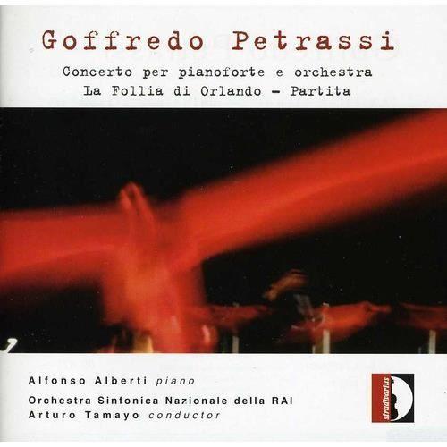 G. Petrassi - Goffredo Petrassi: Concerto Per Pianoforte & Orchestra La Follia Di Orlando Partita