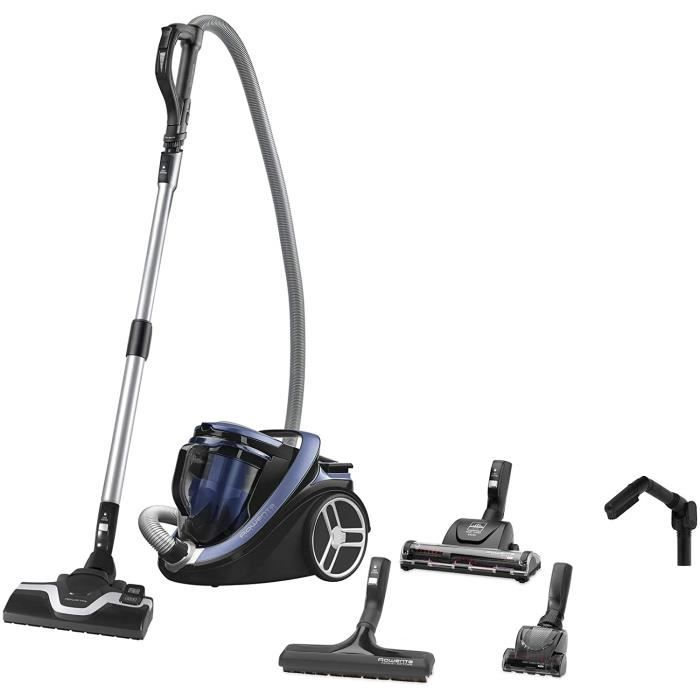 ASPIRATEUR BALAI Rowenta Silence Force Cyclonic -Animal Care Pro- Aspirateur Sans Sac, Silencieux, Performant, Ergonomique, Capa174