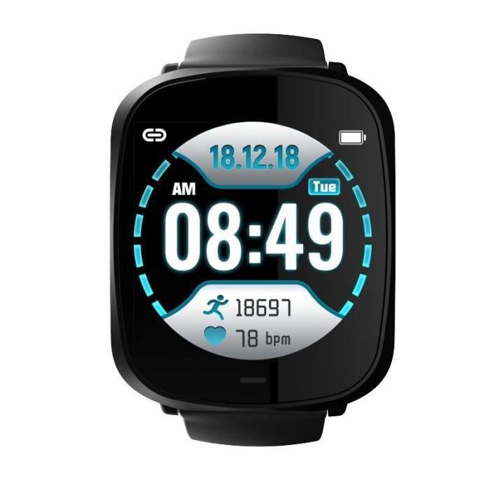 Montre connectée sport Fit-Me - Bluetooth - IP67 - 5 jours d'autonomie - Cellys