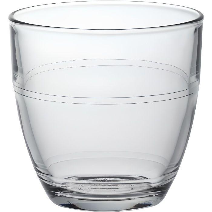 DURALEX Lot de 6 verres gobelets GIGOGNE - 16 cl