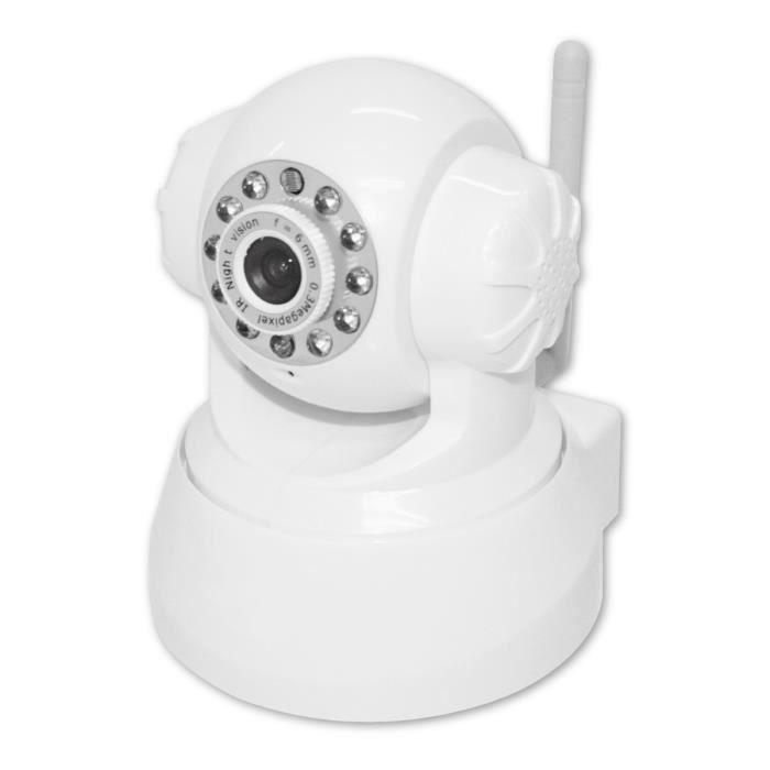 Home Confort - Caméra de surveillance Wi-Fi motorisée Eurotas
