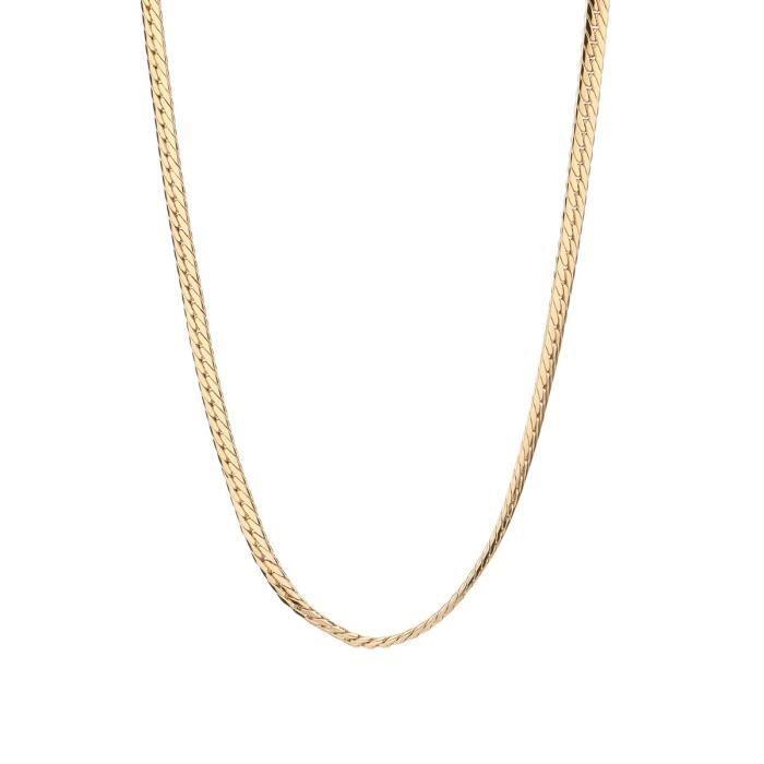 Les Bijoux d'Emma - Collier en Maille Anglaise - OR 9CT