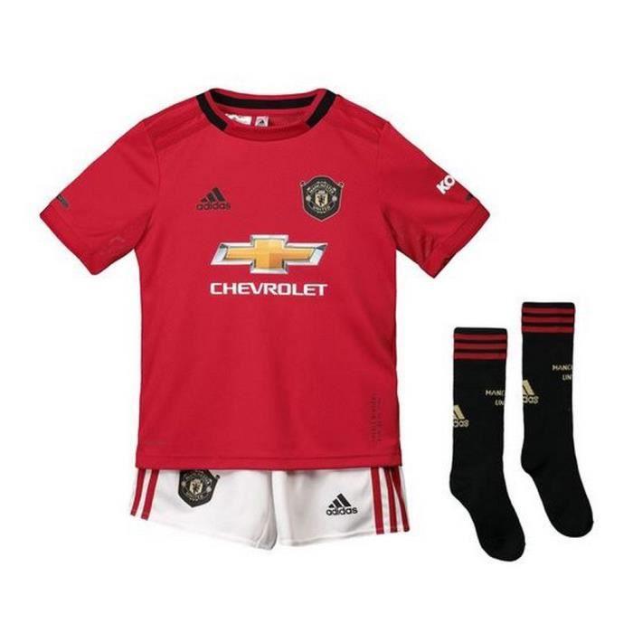 Nouveau Mini-Kit Officiel Enfant Adidas Manchester United Home Saison 2019-2020
