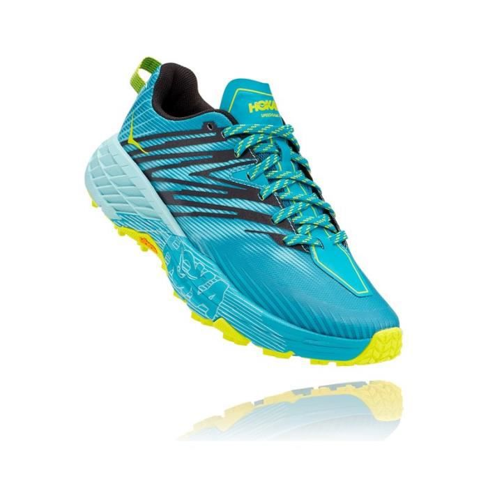 Basket running Femme Hoka Speedgoat 4 bleu angel