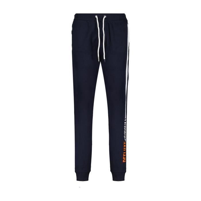 DEELUXE Pantalon de jogging avec logo DALLAS Navy