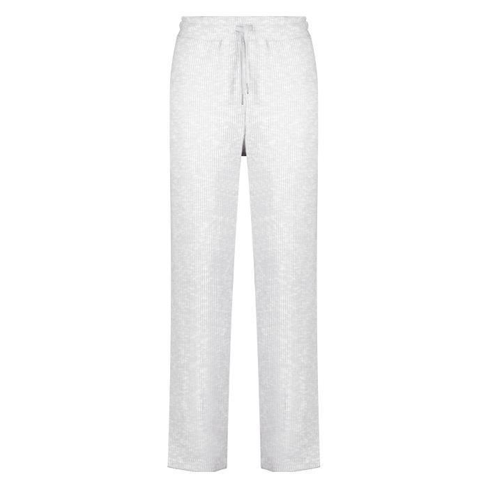 DEELUXE Pantalon large côtelé au toucher doux OLGANA Light Blue Mel