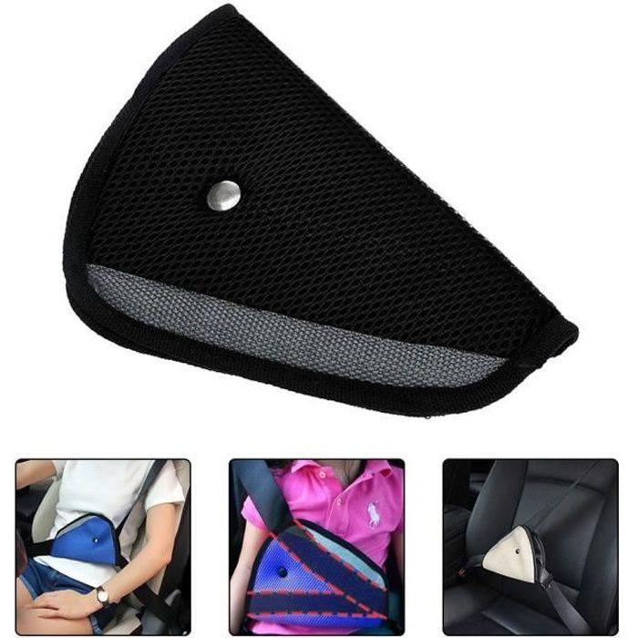 Ajusteur de ceinture de sécurité pour enfant Noir