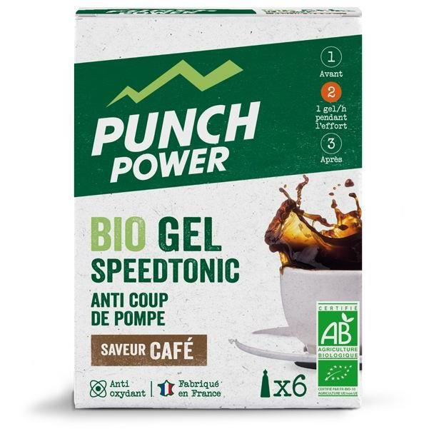 PUNCH POWER Speedtonic Café - Boîte 6 gels