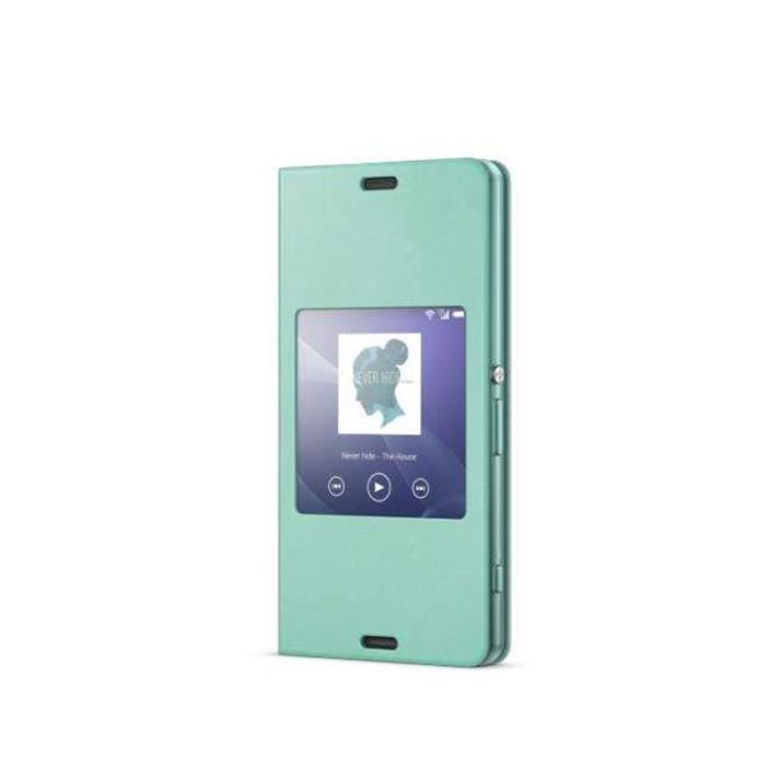 SONY Style Up Etui de protection Xpéria Z3C - Vert amande