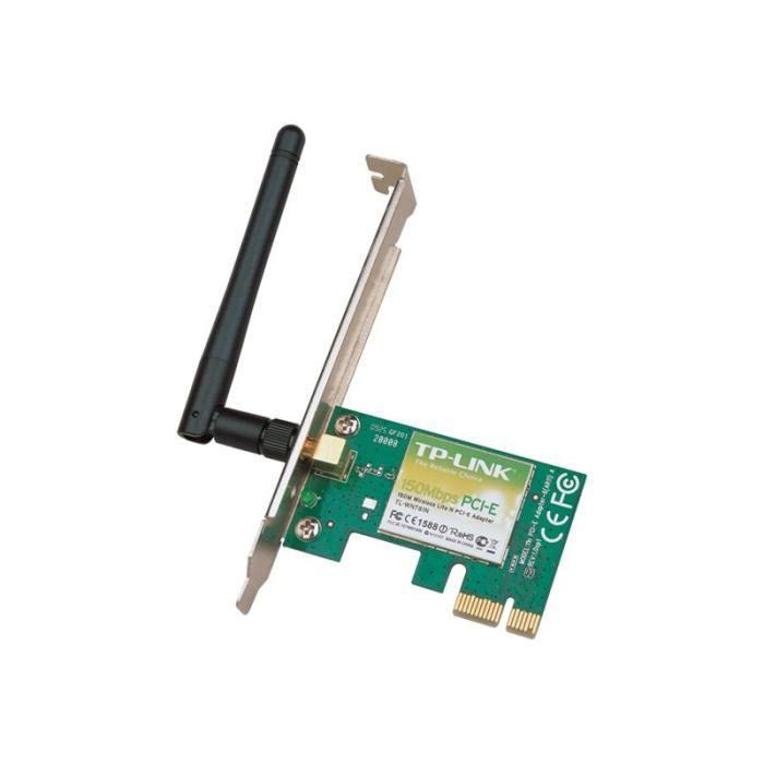 TP-LINK TL-WN781ND Adaptateur réseau PCIe 802.11b, 802.11g, 802.11n