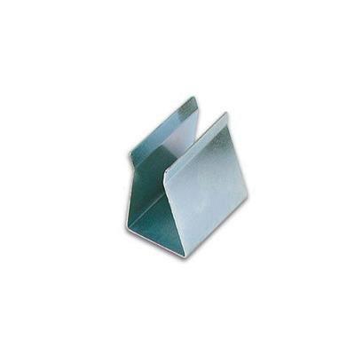 Support de piles 9v type pince version metallique