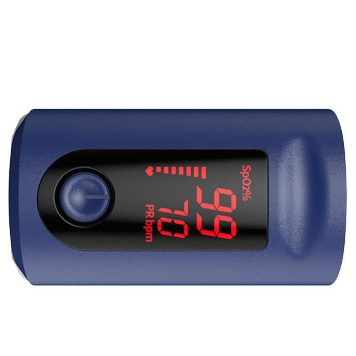 1 pc Petit Portable Durable Moniteur D'oxygène Du Sang De Taux D'impulsion CARDIOFREQUENCEMETRE - ACCESSOIRE - PIECE DETACHEE